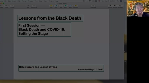 Thumbnail for entry -1 Lessons from the Black Death