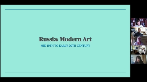 Thumbnail for entry Russian Art: Session 1