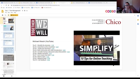 Thumbnail for entry Go Virtual Day 1 - Time Management (Celina Phillips, Tal Slemrod, Asa Mittman)