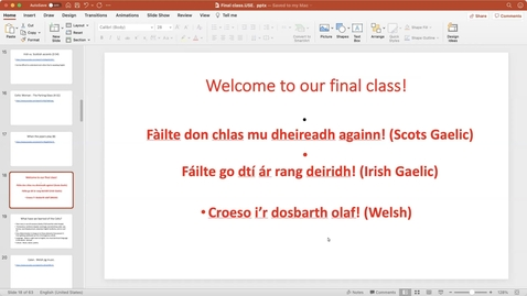 Thumbnail for entry Hail to the Celts: Session 15
