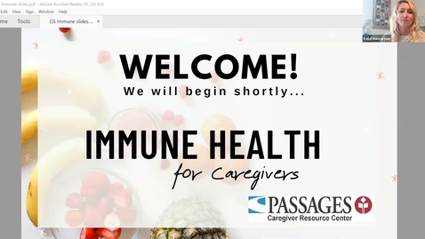 Thumbnail for entry Immune Health for Caregivers