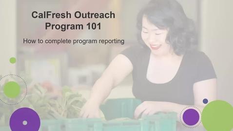 Thumbnail for entry Test Program Reporting