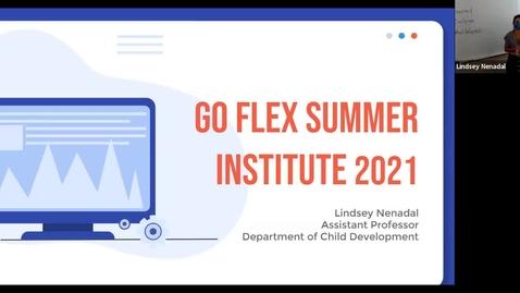 Thumbnail for entry GoFlex Summer 2021 Reflection_Lindsey Nenadal