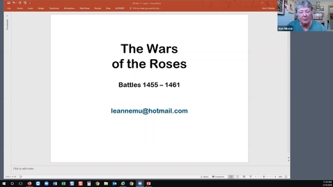 Thumbnail for entry The Wars of the Roses: Battles 1455-1461 (Session 5)