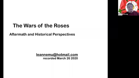 Thumbnail for entry The Wars of the Roses: Aftermath and Historical Perspectives, No. 11