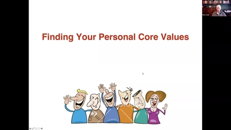 Thumbnail for entry Do you Know Your Unique Core Values - 2