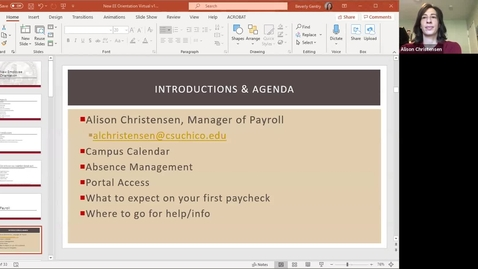 Thumbnail for entry New Employee Orientation - 5/28/20