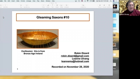 Thumbnail for entry Gleaming Saxons:  Session 10
