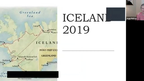 Thumbnail for entry Armchair Traveler: Icelandic Adventures with Joan Palmer (Week 3)
