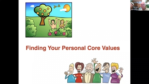 Thumbnail for entry Do you Know Your Unique Core Values - 1