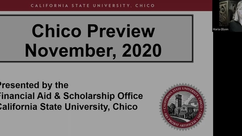 Thumbnail for entry Chico Preview 2020