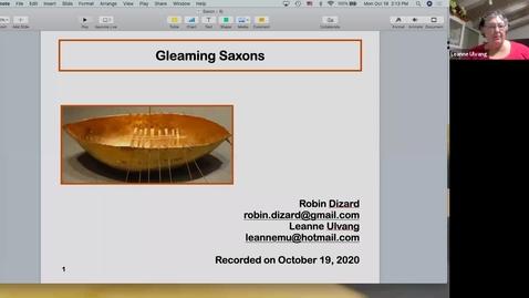 Thumbnail for entry Gleaming Saxons: Week 6 (November 2)