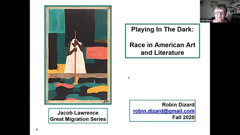 Thumbnail for entry Race in America: Playing in the Dark, Session 1