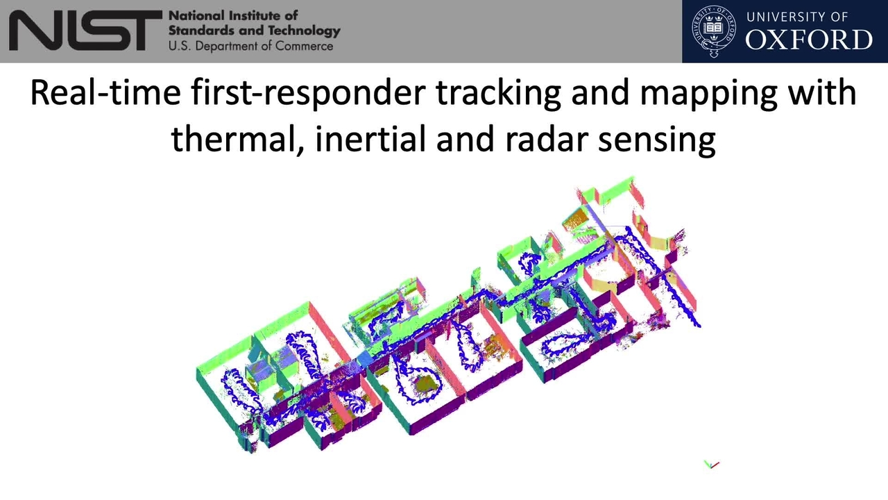Real-Time First Responder Tracking and Mapping with Thermal, Inertial, and Radar Sensing_On-Demand Session