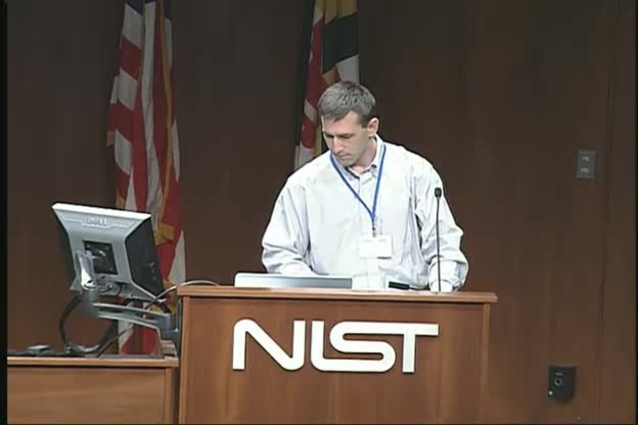 Standards for Microbiome Measurements, Day 2 Part 1