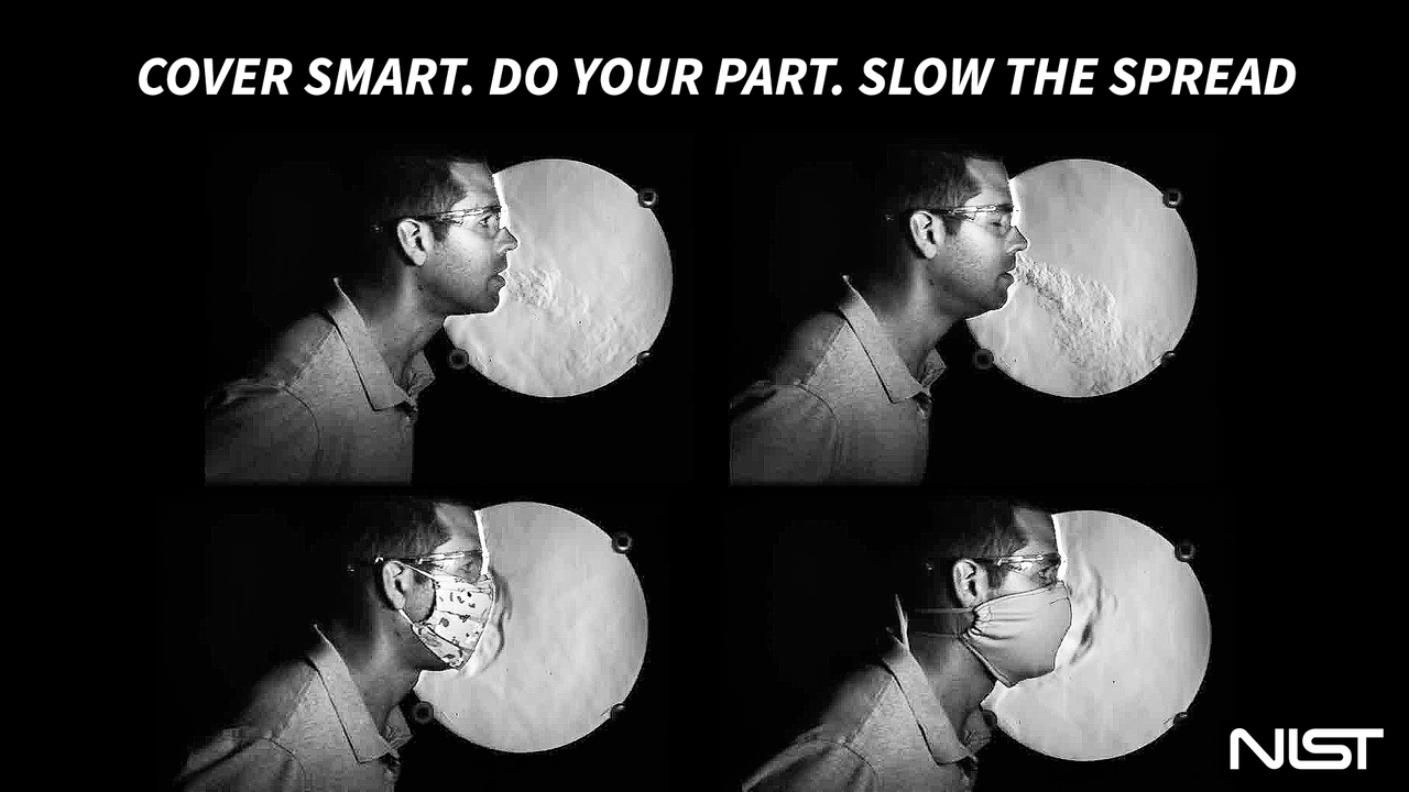 Cover smart. Do your part. Slow the spread.
