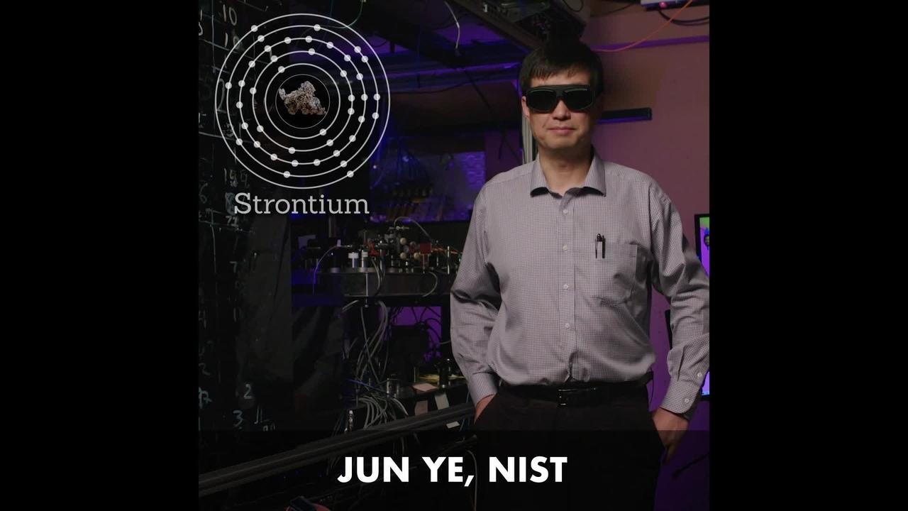 NIST Physicist Jun Ye on Strontium