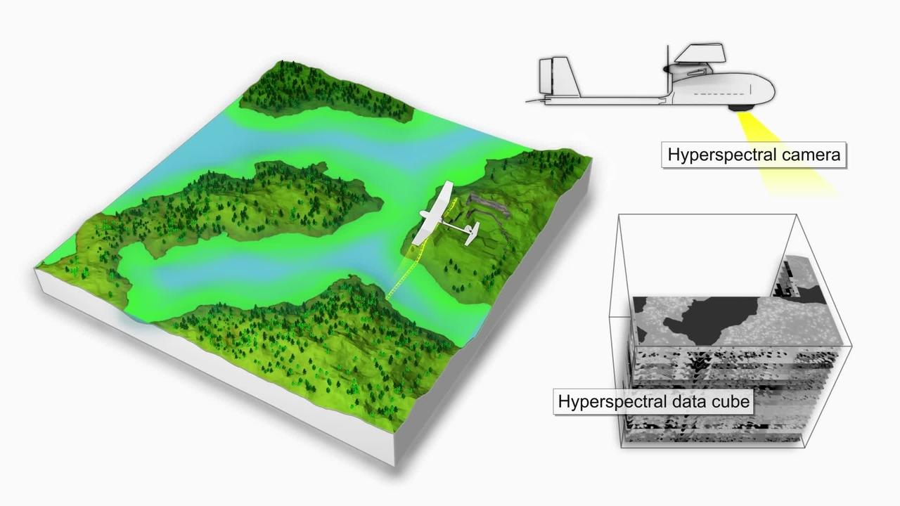 Identifying algae blooms through hyperspectral imaging