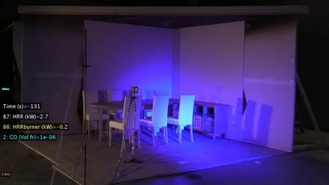 CLT Mock-up Room Corner (Test 2)