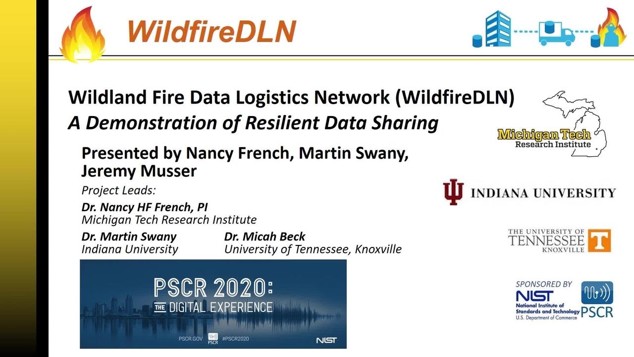 WildfireDLN_On-Demand Session