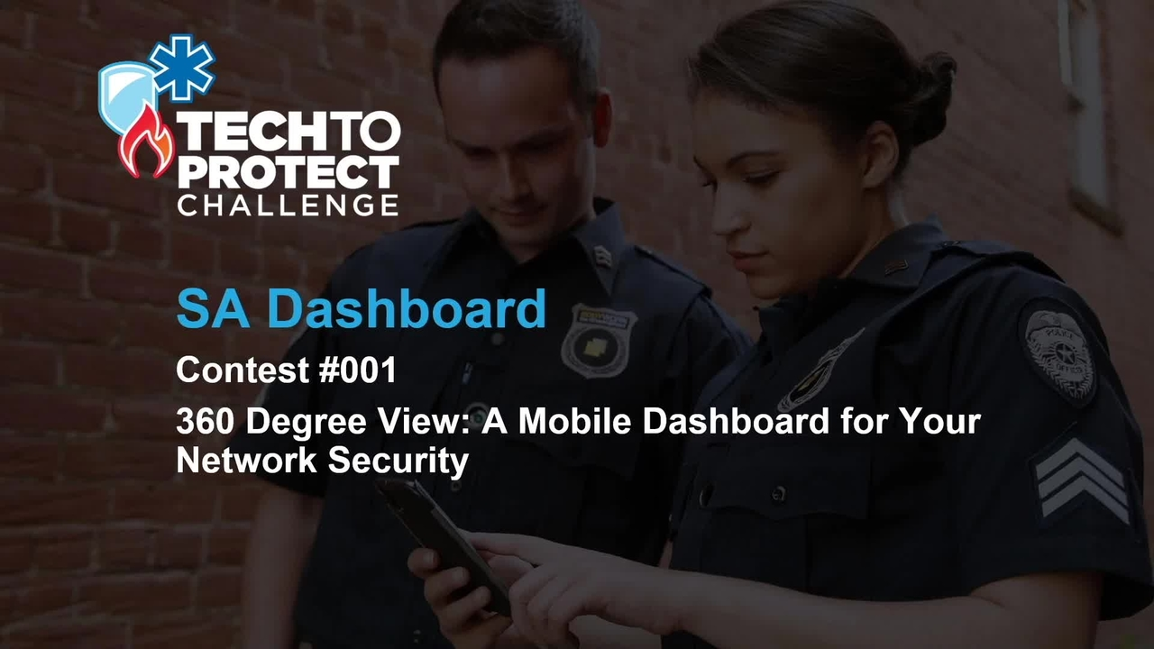 Tech to Protect Challenge - SA Dashboard - Beam Reach