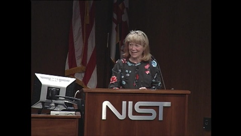 NIST Colloquium Series: Global Scientific Engagement, Geri Richmond