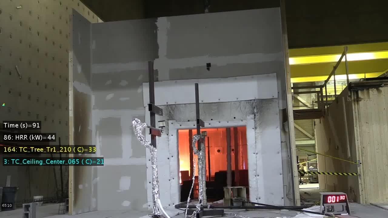 CLT Test 1-4: Front View (Time Lapse)