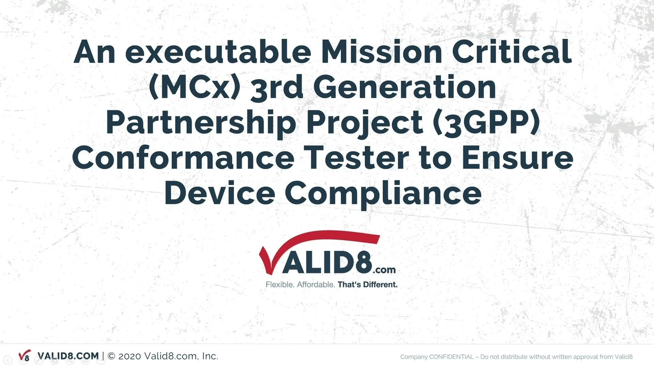 Executable MCX 3GPP Conformance Tester_On-Demand Session