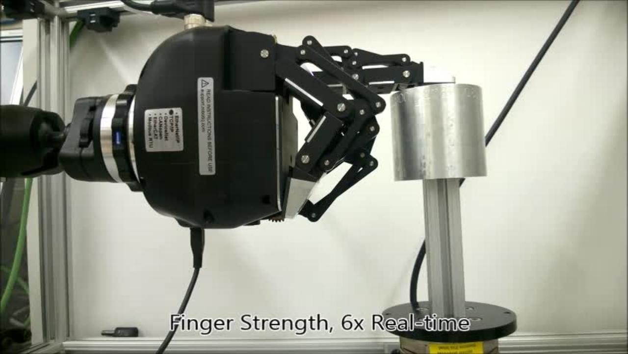 Robotic Hand Performance Testing