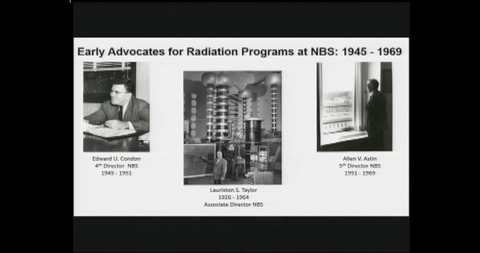 NIST Colloquium Series: Radiation Physics at NBS/NIST - A Half Century of Metrology in NIST Building 245