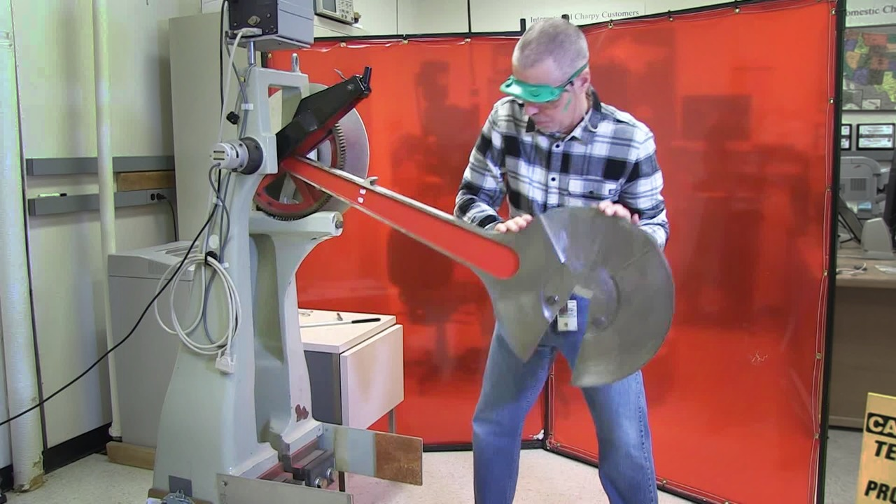 Strikingly Simple: How do you test a metal's resistance to impact?
