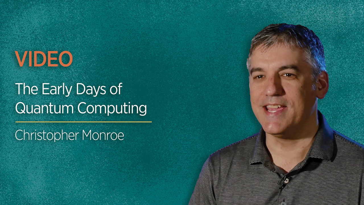 The Early Days of Quantum Computing