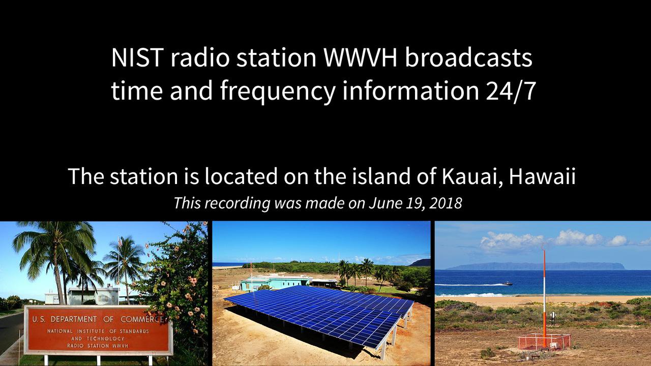 WWVH in Hawaii