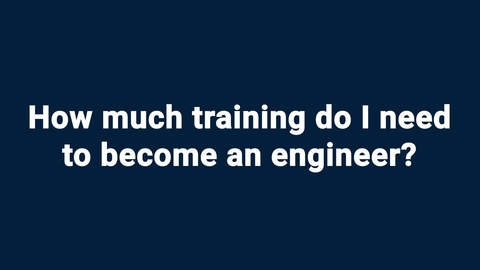Kids ask NIST: How much training do I need to become an engineer?