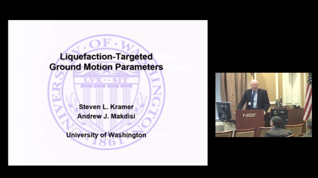 Liquefaction-Targeted Ground Motion Parameters: 2019 Disaster Resilience Symposium