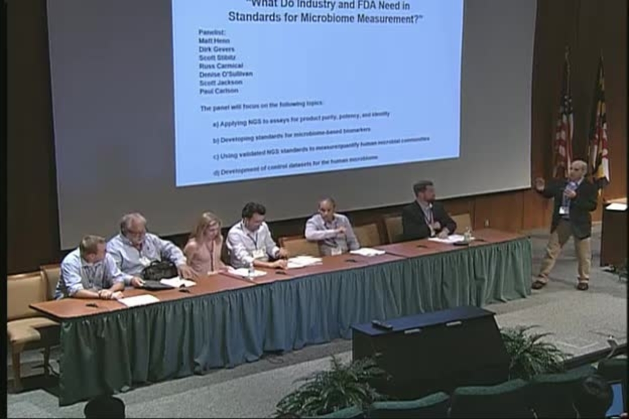 Standards for Microbiome Measurements, Day 1 Part 3