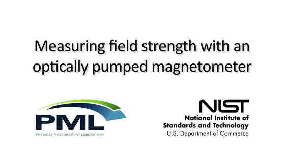 Video thumbnail for Measuring Field Strength with an Optically Pumped Magnetometer