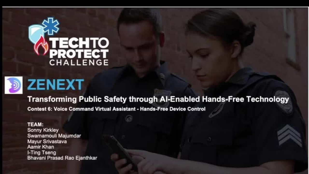 Tech to Protect - Zenext