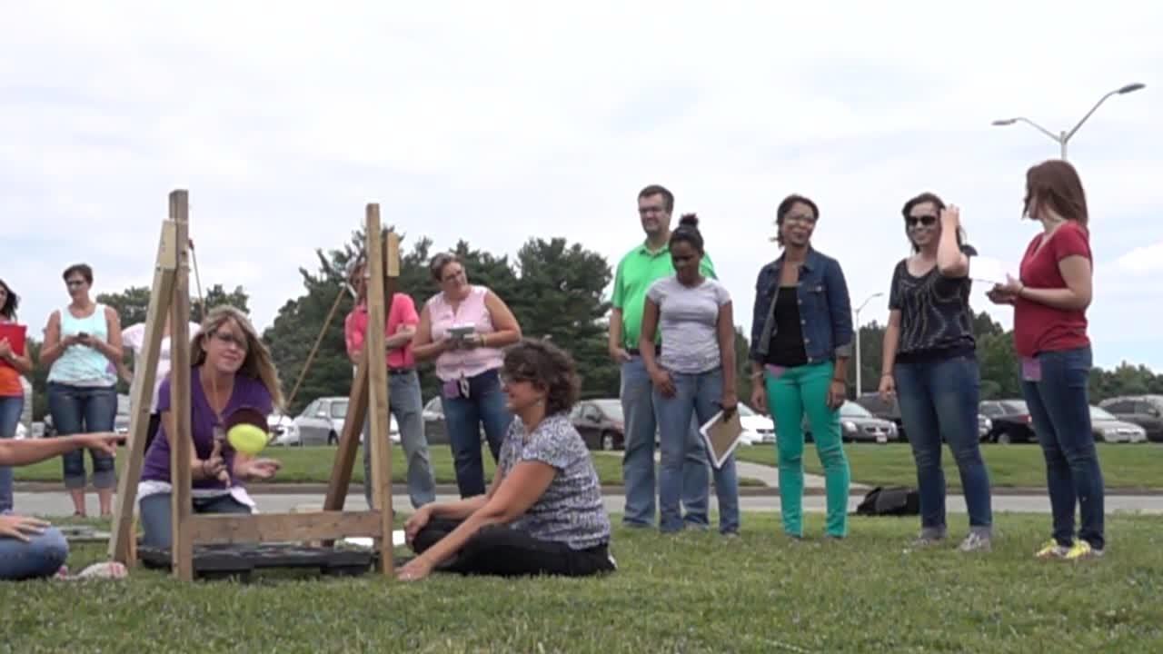 Water Balloon Demonstration - NIST Summer Institute 2015