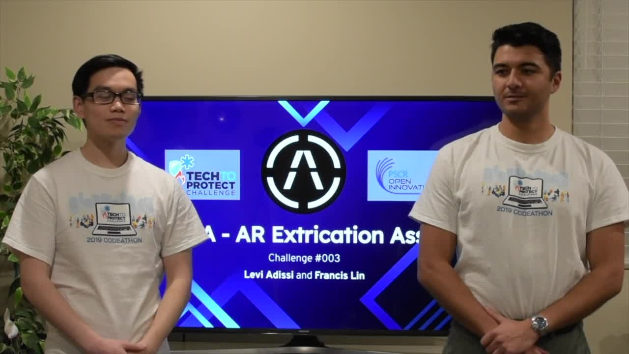 Tech to Protect Challenge - AREA's AR Extrication Assist