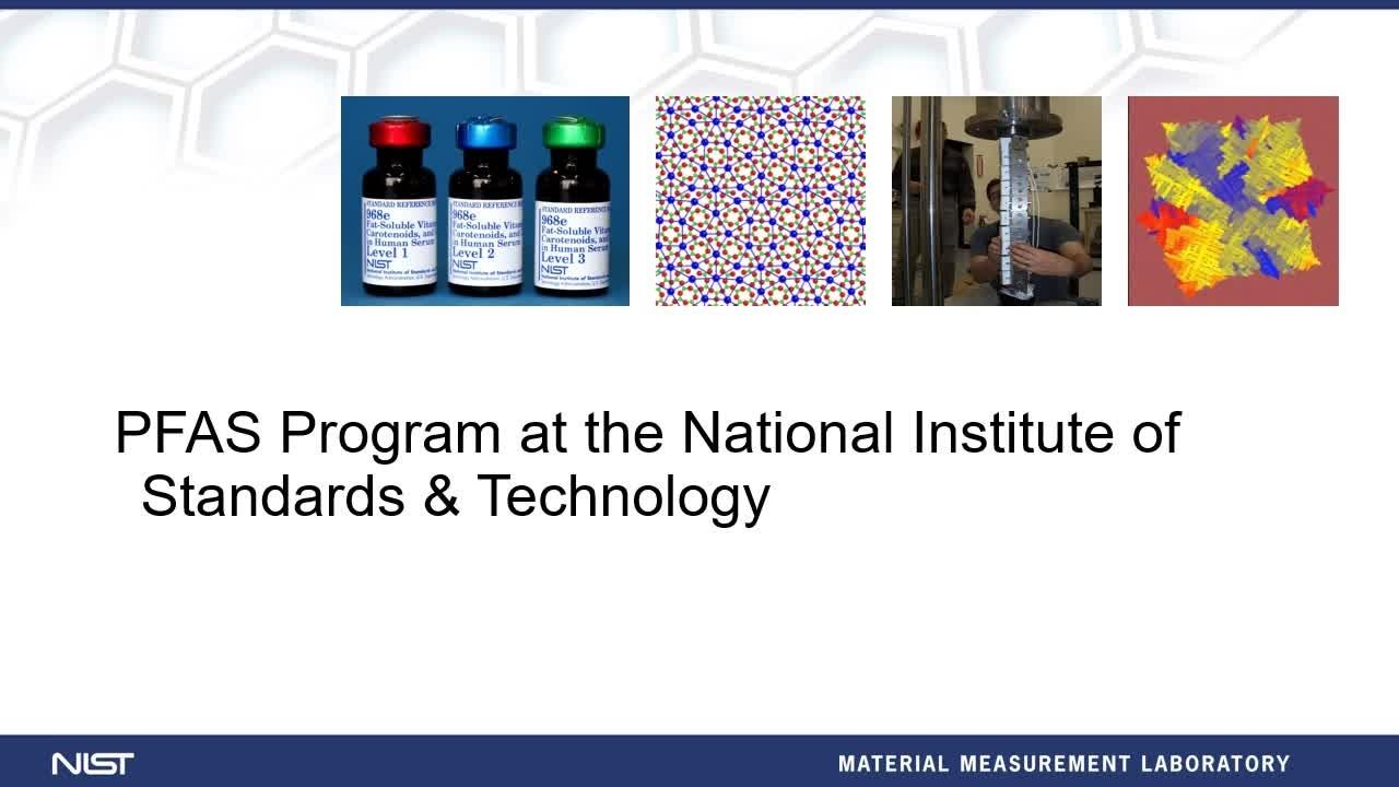 NIST-PFAS Program Overview