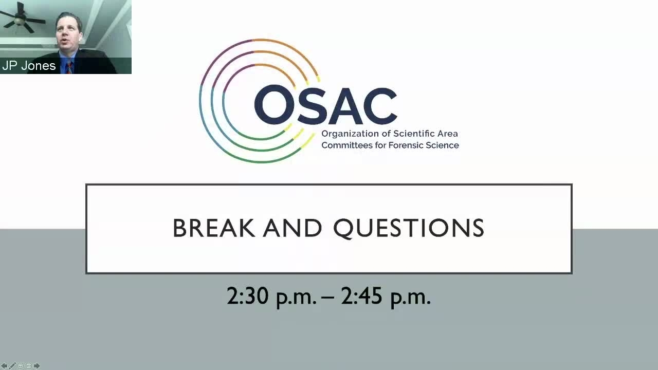 OSAC Public Update Meeting Session 2
