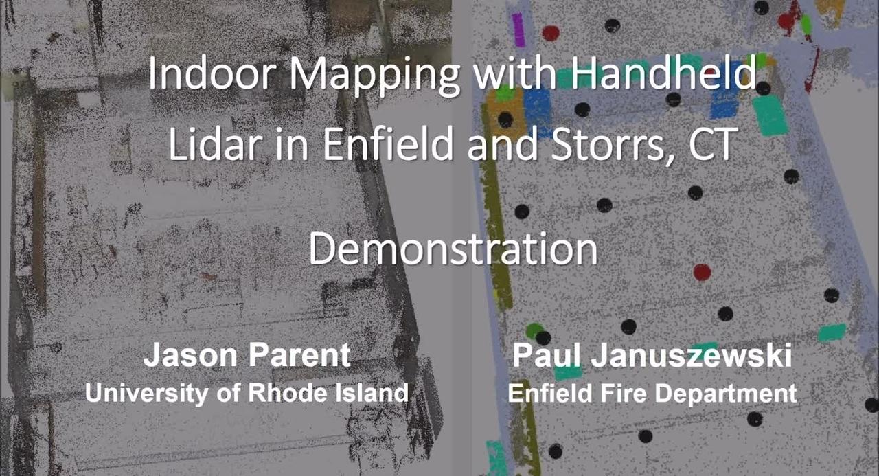 PSCR 2021_Indoor Mapping with Handheld Lidar_Tech Demo