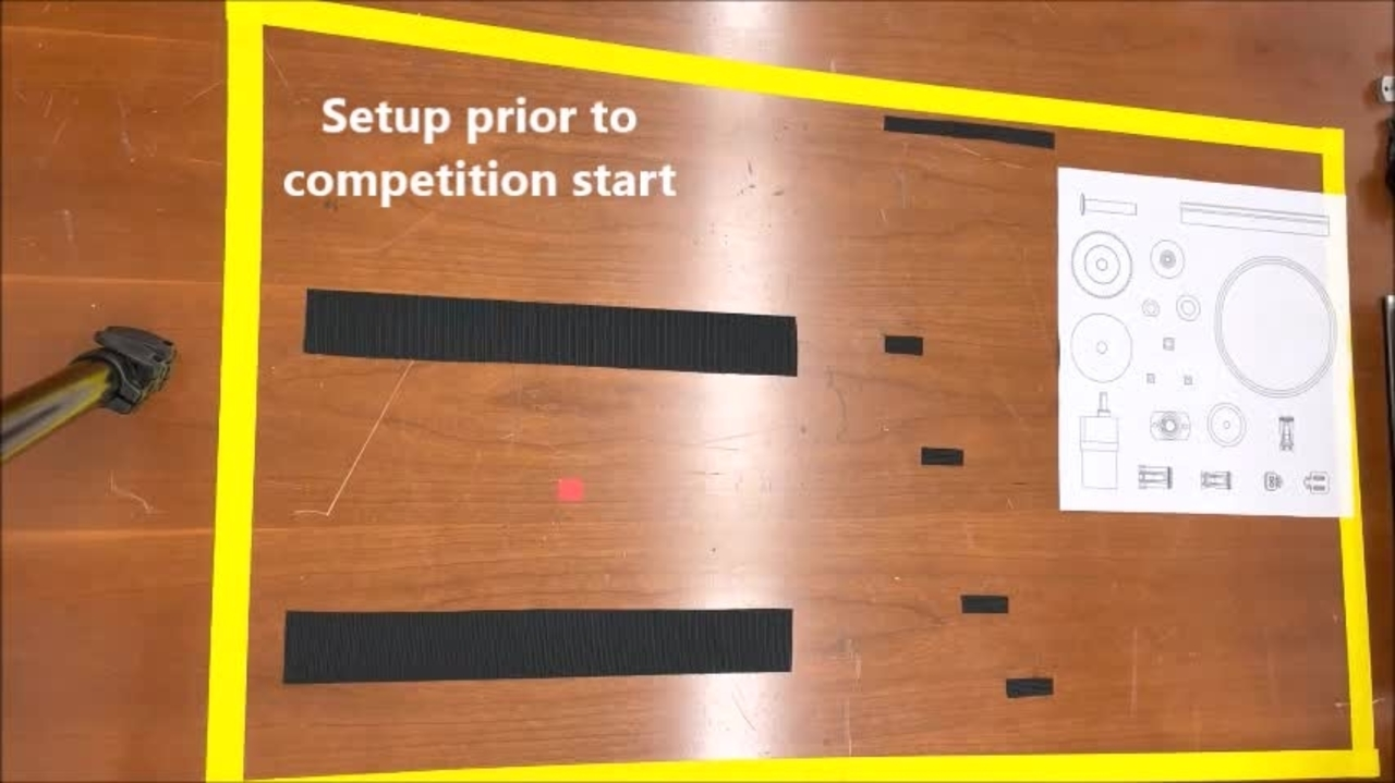 Assembly demonstration of the IROS 2021 Robotic Grasping and Manipulation Competition: Manufacturing Track task board