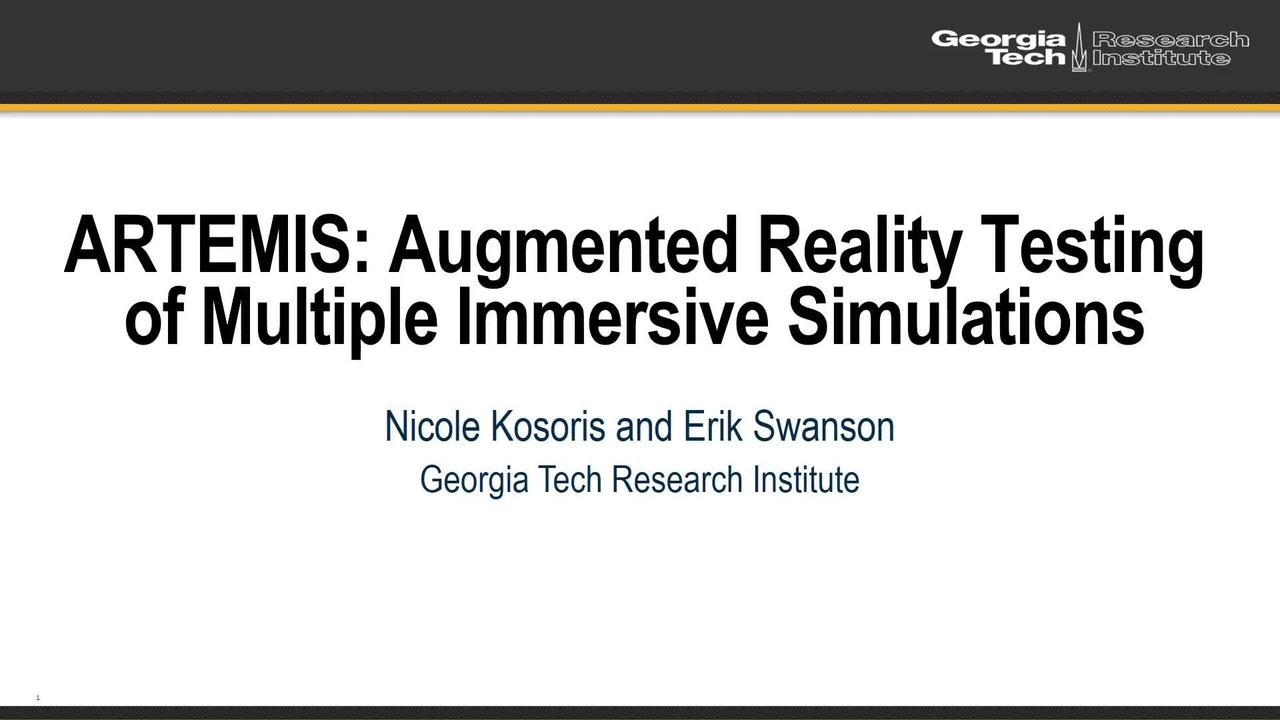 PSCR2021_ARTEMIS Using VR and to Test AR_OnDemand