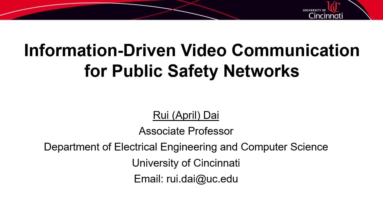 PSCR2021_Info Driven Video Comms_On-Demand