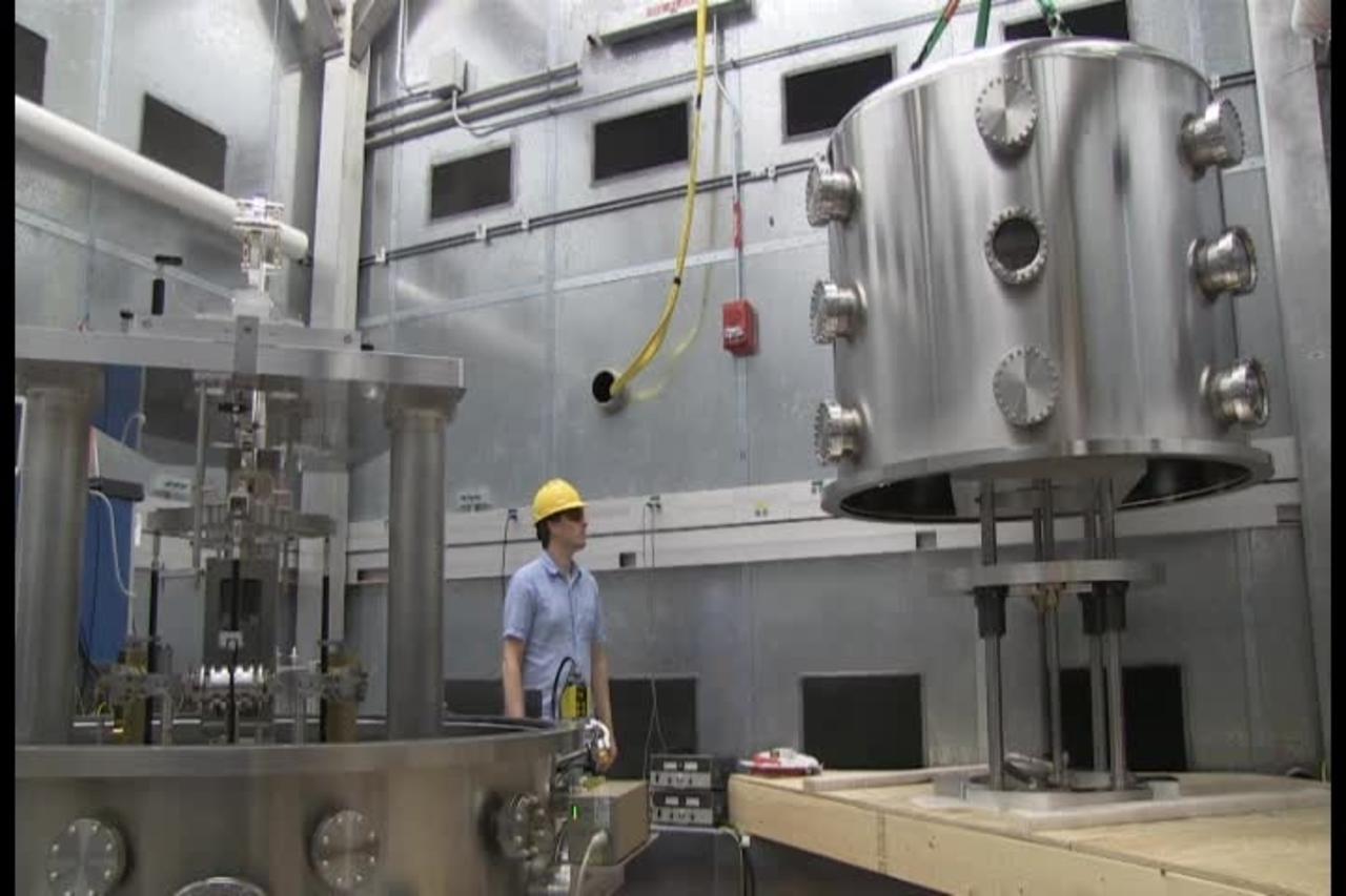 Vacuum Cover for Watt Balance