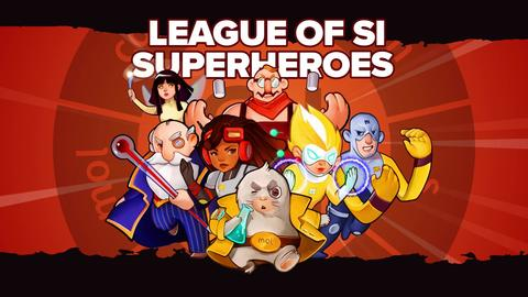 League of SI Superheroes Episode 4: Two Truths & a Lie