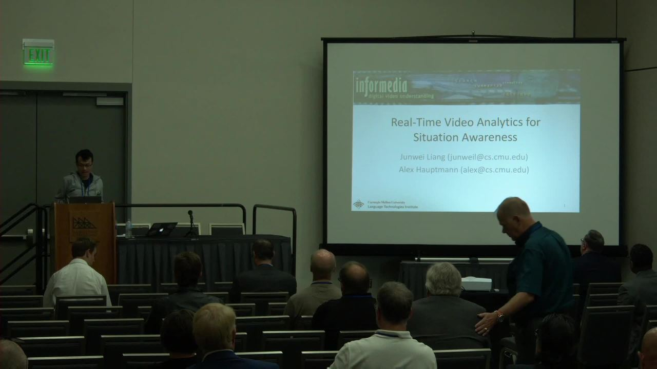 Real-time Video Analytics for Situation Awareness