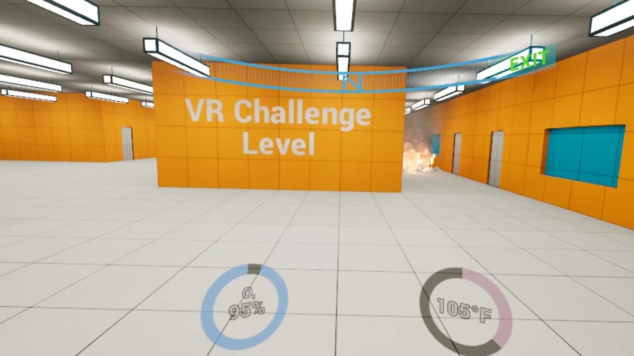 LookOnVRTU VR HUD Video